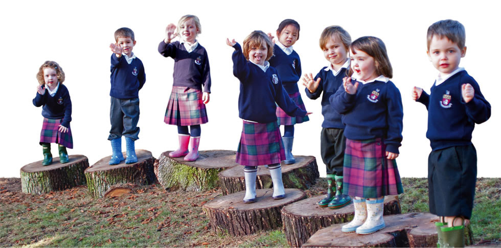 Bentley Photographic image of School children on contact us page