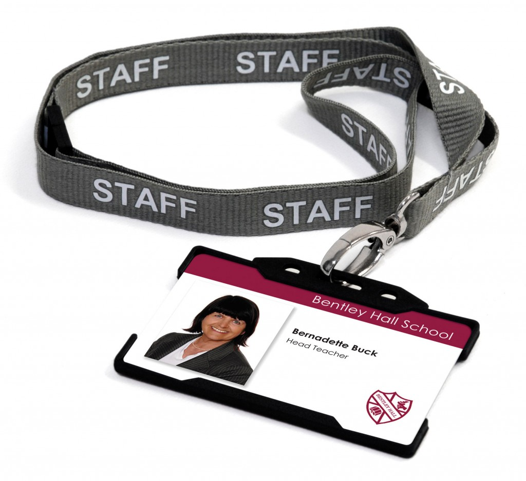 Id card using staff boards image